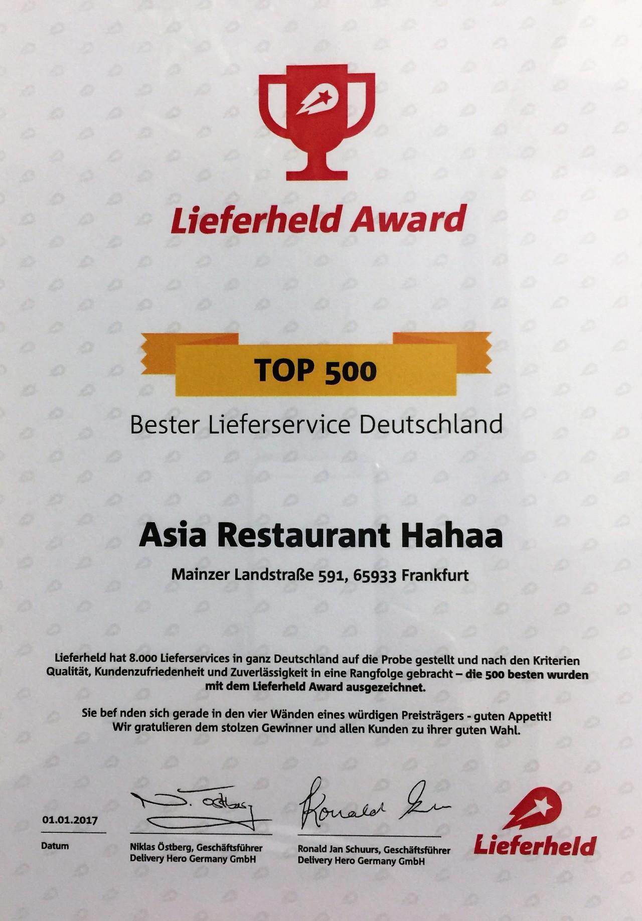 asia restaurant auch